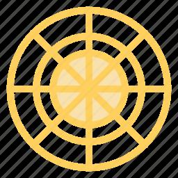 aim, bullseye, dartboard, shottingtarget icon