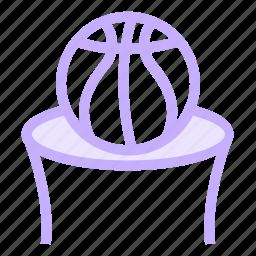basketball, basketballlrim, basketballnet, basketballstand icon