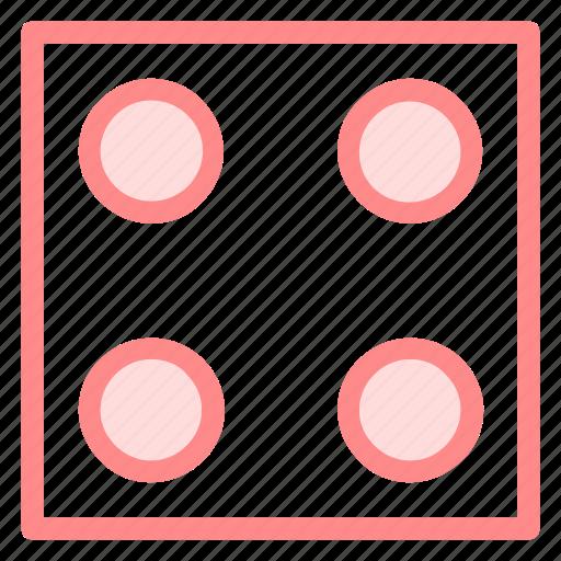 boardgame, casino, dicecube, gambling icon