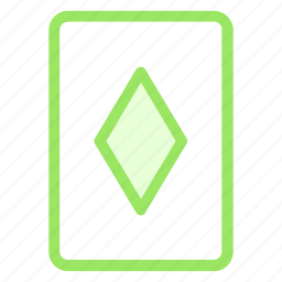 casino, casinocard, diamondcard, playcard icon