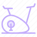 cycleergometer, ecercisemachine, exercisebicycle, weightlose icon