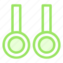 exercisaerings, flyingrings, ringscrossfit, steadyrings icon