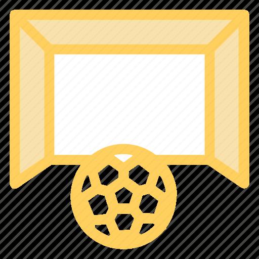 football, footballgoalpost, footballnet, goal icon