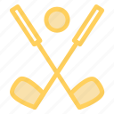 golf, golfballtee, golfhit, putterball icon