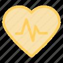 heart, heartbeat, pulsation, pulse