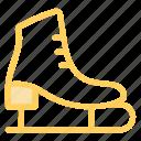 iceskates, iceskating, skates, sports icon