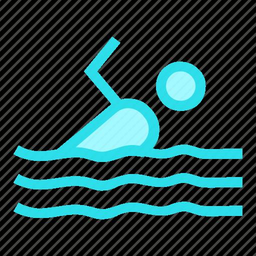 sports, swimmer, swimming, swimmingpool icon