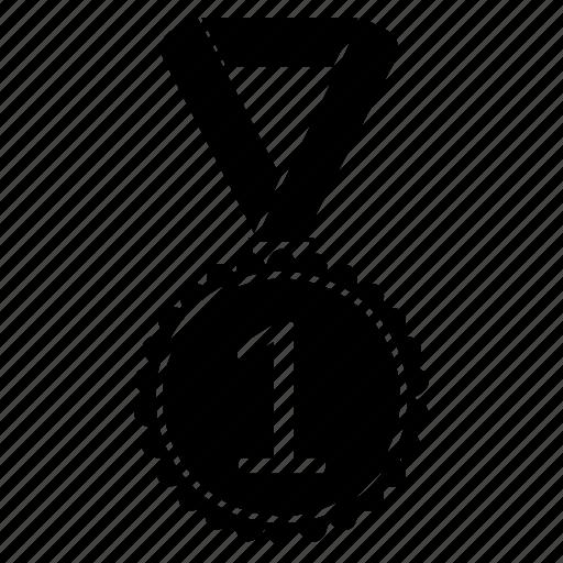 award, badge, first, game, position, reward, sport icon
