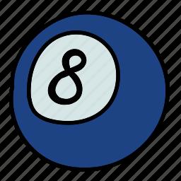 activity, ball, billiard, hobby, sports icon