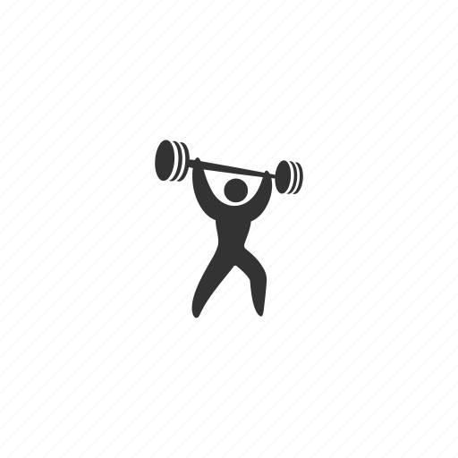 athlete, competition, dumbbells, event, exercise, heavy, lift, match, muscular, pool, practice, race, skill, snatch, sport, strength, swim, swimming, training, waves, weightlifter, workout icon