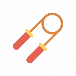exercise, fitness, gym, jumpingrope icon