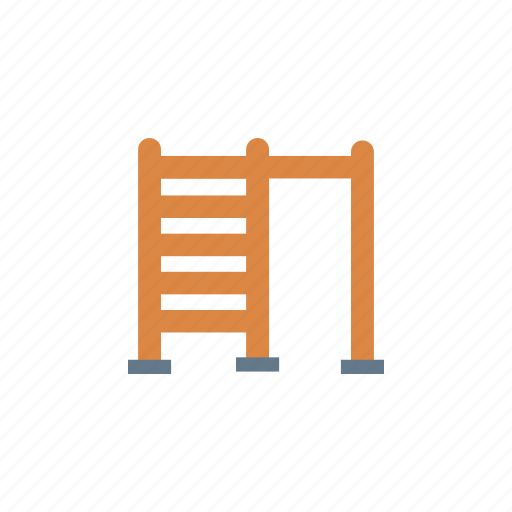 exercise, fitness, gym, stairs icon