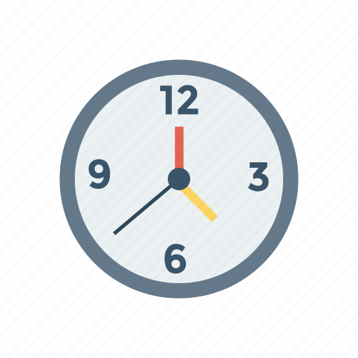 alarm, clock, time, watch icon