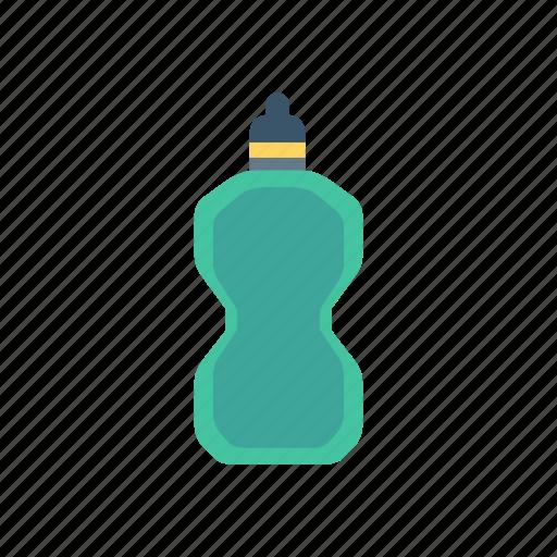 bottle, protiens, shake, water icon
