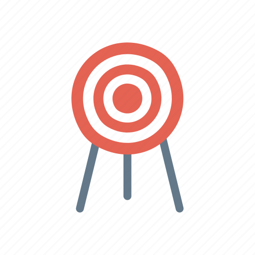 dartboard, focus, goal, target icon