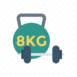 dumbbell, gym, heavy, weight icon
