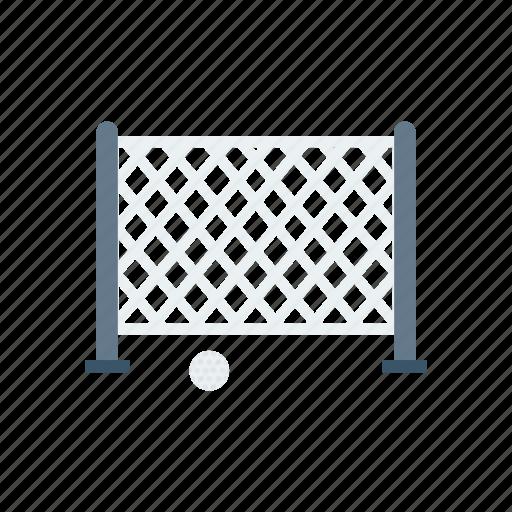 football, goal, net, sport icon