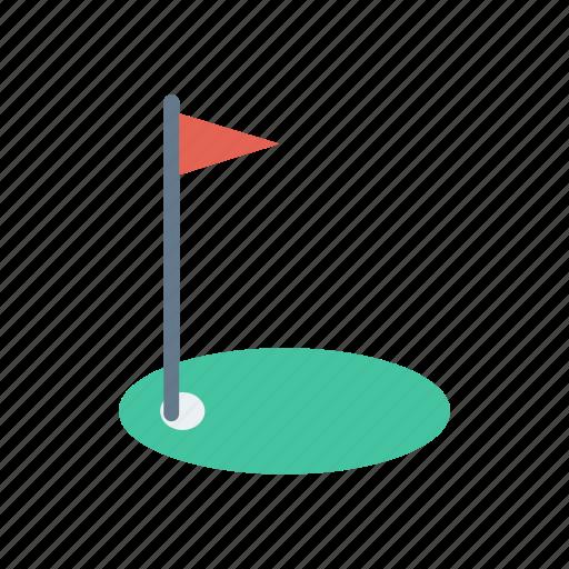finish, flag, goal, target icon