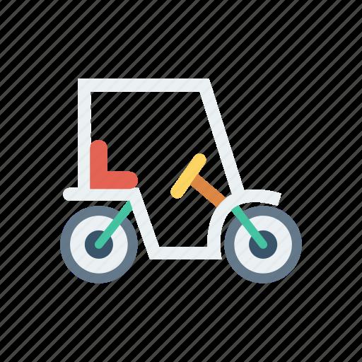 bike, golf, transport, vehicle icon