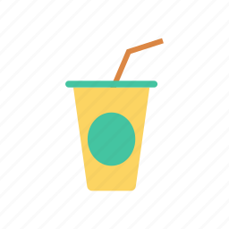 drink, glass, juice, shake icon