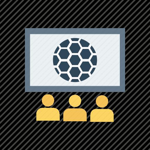 display, monitor, screen, television icon