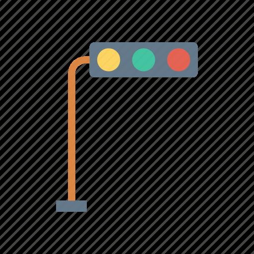light, rule, signal, traffic icon