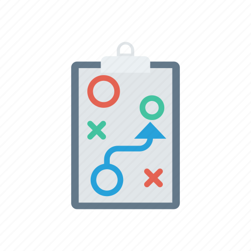 planning, puzzle, strategy, tactic icon