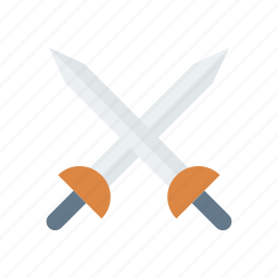 dagger, knife, sword, weapon icon