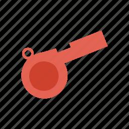 alert, game, sports, whistle icon