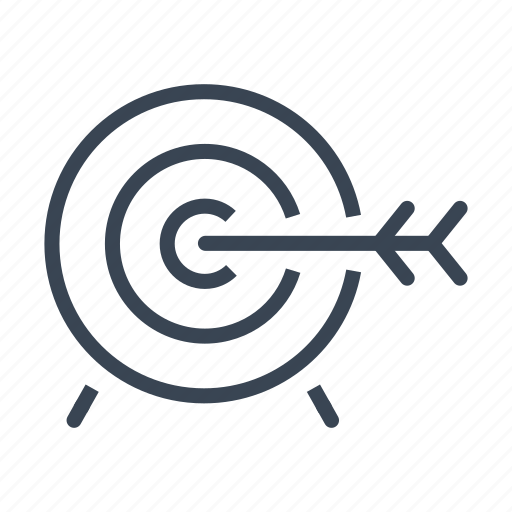 Aim, archery, sport, target icon - Download on Iconfinder