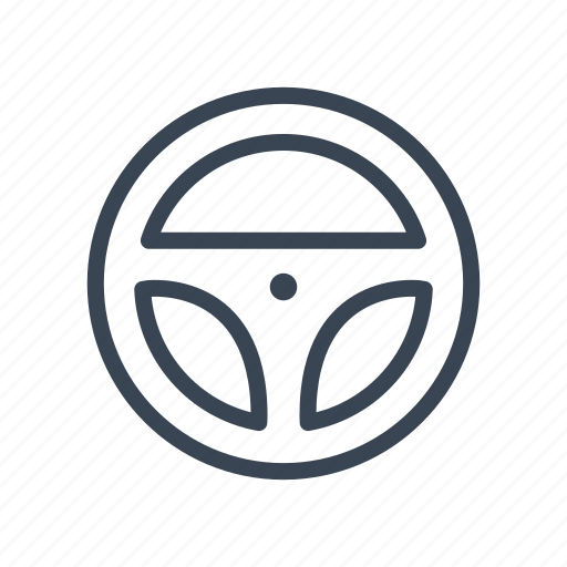 racing, rally, steering, wheel icon
