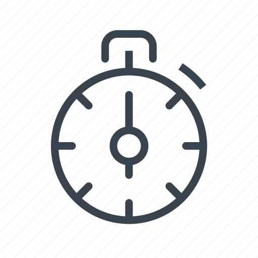 chronometer, stopwatch, time, timer icon