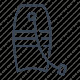 board, body, bodyboard, sport icon