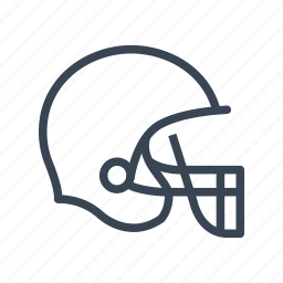 american, football, helmet, sport icon