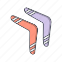 boomerang, boomerange, game icon
