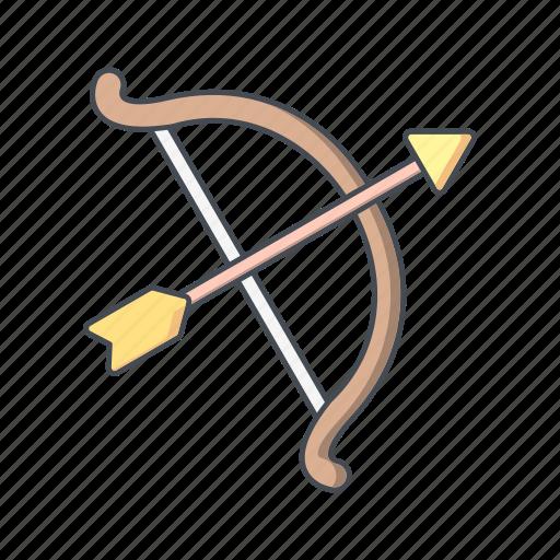 archery, arrow, bow icon