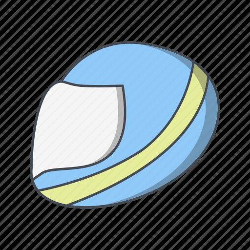 halmet, helmet, racing helmet icon