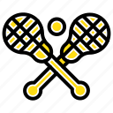 crosse, lacrosse, stick, sticks icon