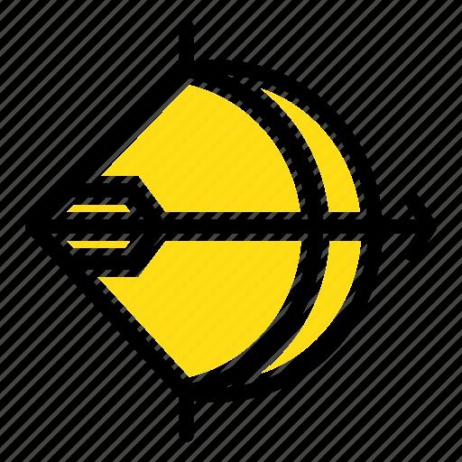 aim, archery, arrow, bow, shoot icon