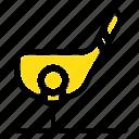 aim, ball, club, golf, shot icon