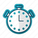 alarm, clock, equipment, timer, watch icon