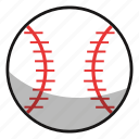 ball, baseball, fitness, game, games, play, sphere, sport, sports, tennis icon
