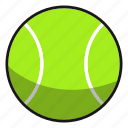 ball, baseball, fitness, games, play, sphere, sport, sports, tennis icon