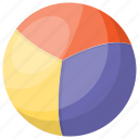 ball, beach ball, circus ball, juggling call, play icon
