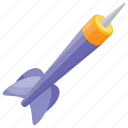 bullseye arrow, dart, dart game, dart pin, dart stick icon