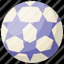 ball, football, sport, sports equipment, stars soccer ball icon