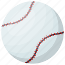 baseball, game, hard ball, sports ball, sports equipment icon
