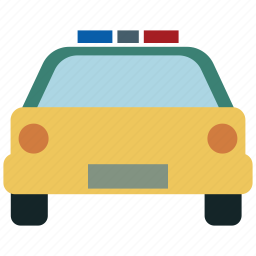 cop car, cops, police, police car icon