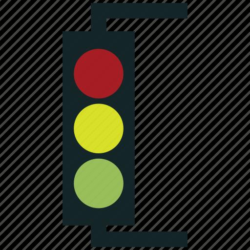 signal, signal lights, stop lights, traffic lamps, traffic lights, traffic semaphore, traffic signal icon
