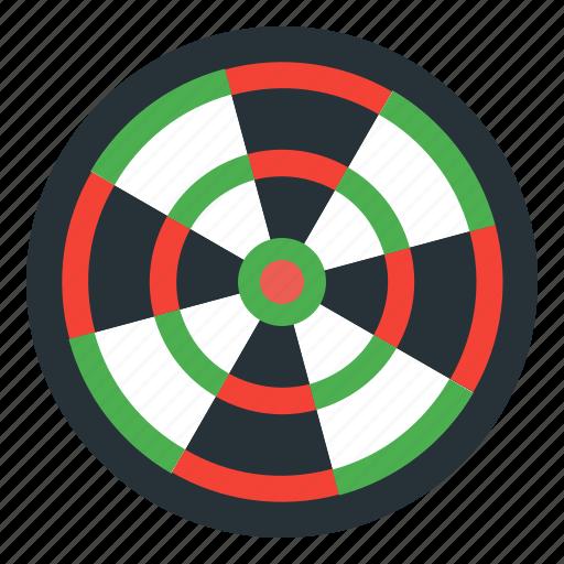 aim, darts, goal, sport icon